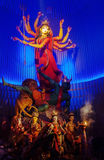 Goddess Durga idol at Kolkata, India Royalty Free Stock Image