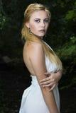 Goddess. Fantastic blonde model posing as a Greek Goddess Stock Images