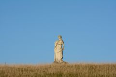 Goddess in the field Royalty Free Stock Photos
