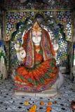 Goddess Ganga Blessings Stock Photo