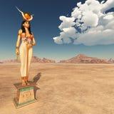 Goddess Hathor. Computer generated 3D illustration the goddess Hathor Stock Images