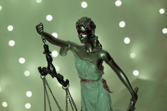 Goddess of justice representative of the law. No people legal lady lawyer courtroom symbol statue judge balance bronze judgment attorney iustitia criminal stock images