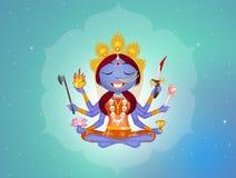Goddess Kali Stock Images