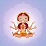 Goddess Kali Royalty Free Stock Photography