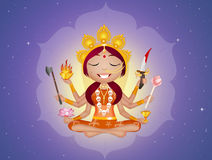 Goddess Kali Stock Photos