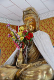 Goddess Kwan Yin sculpture Stock Photos