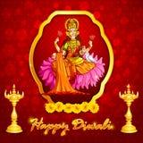Goddess Lakshmi Stock Image