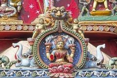 Goddess Lakshmi Royalty Free Stock Photos
