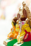 Goddess Lakshmi and Lord Ganesha in Dewali Stock Photography