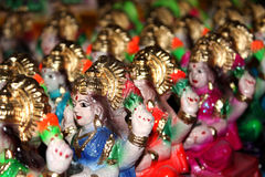 Goddess Laxmi Royalty Free Stock Photos