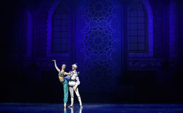 """Goddess of light- ballet """"One Thousand and One Nights"""" Stock Photos"""