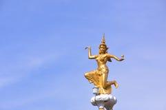 Goddess of lightning. In Thailand stock photo