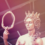 The goddess of love Aphrodite (Venus statue, styled vintage) Royalty Free Stock Photography