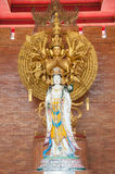 Goddess of mercy Guan yin statue Stock Images