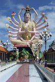 The Goddess of Mercy. In Phuket, Thailand stock photos