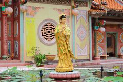 Goddess of mercy temple Royalty Free Stock Photos