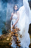 Goddess of nature Stock Photography