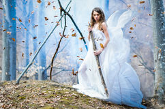 Goddess of nature Royalty Free Stock Photos