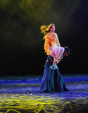 The goddess of resistance in the shoulder-The dance drama The legend of the Condor Heroes. In December 2, 2014, a large Chinese dance drama the legend of the Stock Image