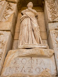 Goddess sculpture in Ephesus. Royalty Free Stock Photo