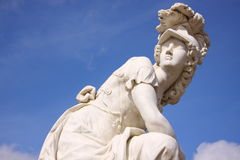 Goddess sculpture of Potsdam Royalty Free Stock Photography