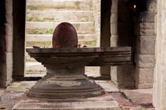 Goddess Shiva linga Royalty Free Stock Images