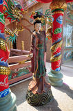 Goddess statue at Chinese shrine in Thailand. Stock Images
