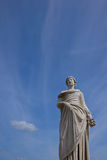 Goddess statue - Compiegne Imperial Castle Royalty Free Stock Image