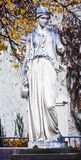 Goddess statue, mythological marble sculpture Royalty Free Stock Images