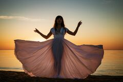 Free Goddess, Woman, Energy, God, Sun Stock Photography - 211540342