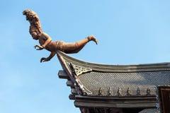 Goddess wooden statue Royalty Free Stock Photo