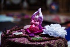 Goddesse op een altaar Royalty-vrije Stock Foto