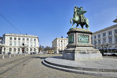 Godefroid Van Bouillon foto de stock royalty free