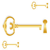 goden ключ Стоковые Изображения