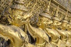 The Goden Garuda in Temple of The Emerald Buddha , BANGKOK, THAILAND Stock Photos