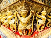 The Goden Garuda in Temple of The Emerald Buddha (Wat Phra Kaew) Royalty Free Stock Photo