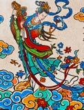 Goden op de muren Royalty-vrije Stock Afbeelding