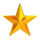 Goden stars Royalty Free Stock Photography