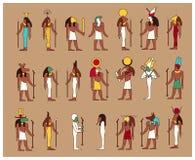 Goden van Egypte Royalty-vrije Stock Fotografie