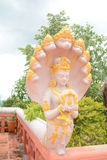 Godenbeeld met Naga Stock Foto's