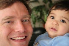 Godere del tempo con il mio figlio Immagini Stock