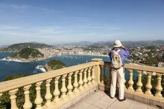 Godere di San Sebastian, la Spagna Fotografia Stock Libera da Diritti