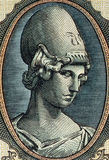 Godess Athena Royalty Free Stock Photos
