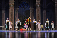 The godfather Deluo Saier Myer-The Ballet  Nutcracker Royalty Free Stock Photos