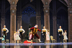 The godfather Deluo Saier Myer-The Ballet  Nutcracker Royalty Free Stock Images