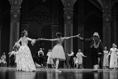 And the godfather godmother together-The Ballet  Nutcracker Stock Photos