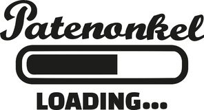Godfather Loading ba. R german vector Stock Photos