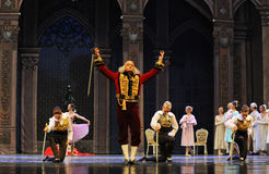 The godfather of majesty-The Ballet  Nutcracker Royalty Free Stock Image