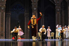 The godfather of majesty-The Ballet  Nutcracker Royalty Free Stock Images