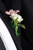 Godfather wedding flower Royalty Free Stock Image